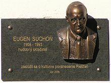 Mémorial Eugen Suchoň à Piešťany