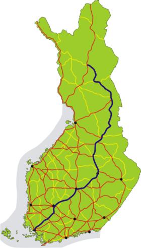Itinéraire de la route européenne 63
