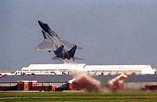 Décollage d'un F-15