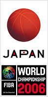 Official logo of the 2006 FIBA World Championship