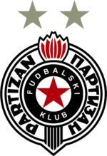 Partizan's crest