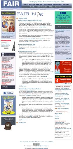 FAIR Home Page