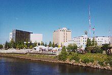 Centre-ville de Fairbanks
