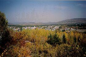 Falardeau en automneLocalisation de Saint-David-de-Falardeau dans la MRC Le Fjord-du-Saguenay