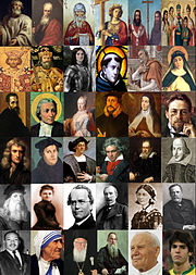 chrétiens célèbres