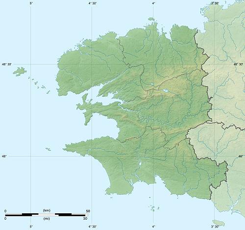 (Voir situation sur carte: Finistère)