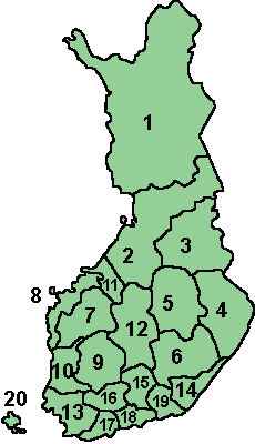 Regions of Finland