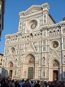 La basilique Santa Maria Del Fiore, cathédrale de Florence