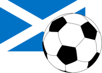Flag of Scotland with football.png