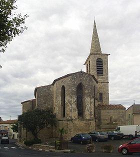 L'église Saint-Martin de Fleury d'Aude