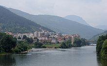La Drina à Foča
