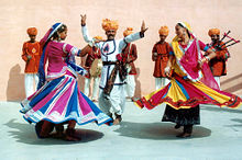 A glimpse of Rajasthan folk dances.