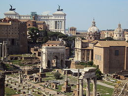 Il Vittoriano e il Foro Romano