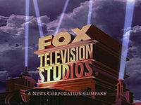 At the end of each FTS-produced show, the end logos look different as the words Twentieth Century Fox was replaced with Television studios as it was the word Fox is moved on to the top Television in middle and Studios at the bottom with the slogan A News Corporation Company.