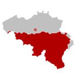 Locatie van de Franse Gemeenschap