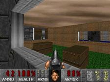Deux jeux de tir subjectif: FreeDoom, une reproduction libre de Doom (1993) et S.T.A.L.K.E.R.: Call of Pripyat (2009).