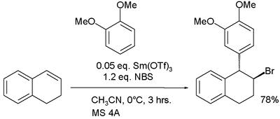 Friedel–Crafts alkylation by an alkene