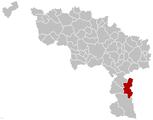 Froidchapelle Hainaut Belgium Map.png