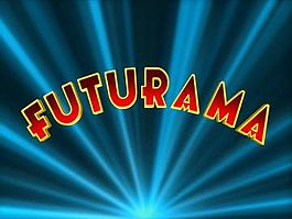 The opening title card for Futurama