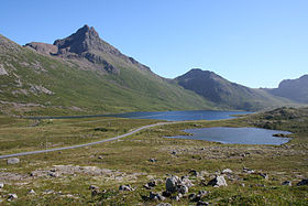Partie occidentale de Langøya, près de Nykvåg