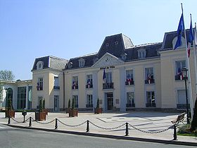 L'hôtel de ville.