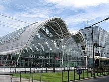 La gare d'Orléans.