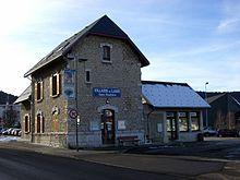 La gare routière de Villard-de-Lans.