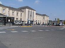 La gare de Chartres.