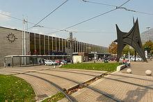 Extérieur de la gare de Grenoble