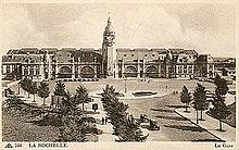 La gare au début du vingtième siècle