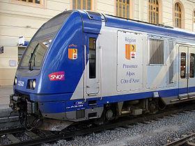 Image illustrative de l'article Transport express régional
