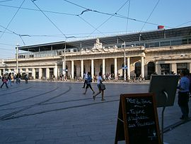 La gare de Montpellier-Saint-Roch.