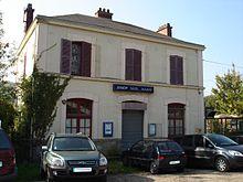 La gare de Nézel - Aulnay.