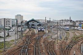 Le Havre, gare terminus