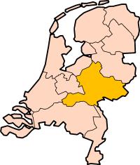 Location of Gelderland