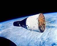 Gemini spacecraft on orbit