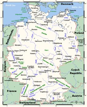 Localización de la boca del Eder en el Fulda