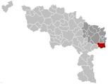 Gerpinnes Hainaut Belgium Map.png