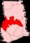 Location of Brong-Ahafo Region in Ghana