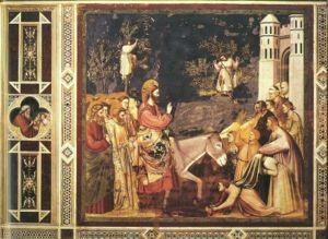 Giotto - Scrovegni - -26- - Entry into Jerusalem.jpg