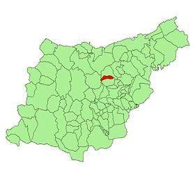 Localisation de Larraul