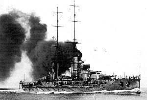 RN Giulio Cesare, speed tests, 1914