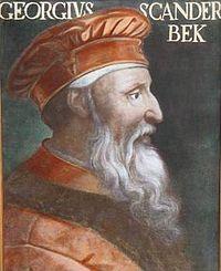Georges Castriote, Albanie