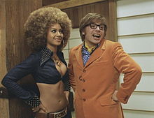 60s psychedelic stylings in Goldmember