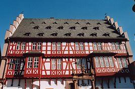 German House of Goldsmiths (old town hall of Hanau)