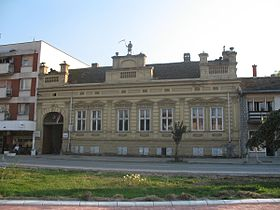 Le centre de Golubac