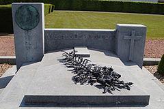 Zijn graf te Aalst