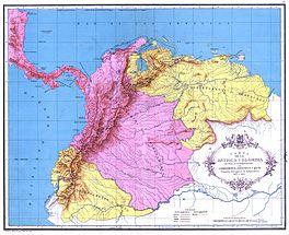 Gran Colombia 1820, guerras de independencia 1821-23.jpg