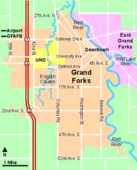 Alerus Center is located in Grand Forks