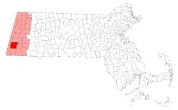 Location of Great Barrington in Berkshire County, Massachusetts